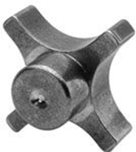 Picture for category 4 Prong Aluminum Hand Knob